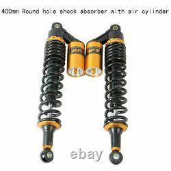 2PC 400mm Rear Air Suspension Shock Absorber For Yamaha Banshee