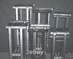 2 4 6 raw NO finish yamaha BANSHEE extended swingarm yfz 350 brake line clamp