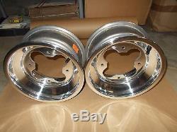 (2) Rims Wheels Front Yamaha Warrior 350 Banshee YFZ450 450R Raptor 660 700