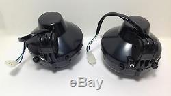 2 X New Yamaha Banshee Headlights 1997-2001 Bulbs Grilles Pair Lens Headlight