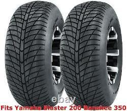 (2) Yamaha Blaster 200 Banshee 350 front 21x7-10 21x7x10 Hi-speed ATV tires