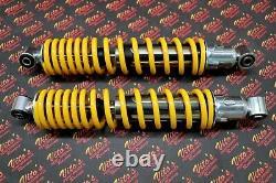 2 x NEW FRONT SHOCKS 1987-2006 Yamaha Banshee ATV springs YELLOW