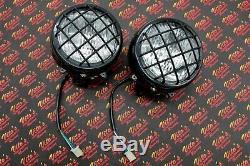 2 x NEW Headlights Yamaha Banshee 1987-2006 lens bulbs lights grills Warrior