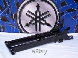 +4 Black With Skid Plate Mounting Brackets Extended Yamaha BANSHEE Swingarm Atv