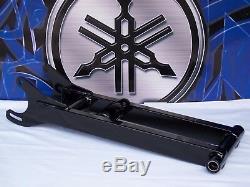 +4 Powder coated Gloss Black Extended Yamaha BANSHEE Swingarm Yfz 350 Atv Mx