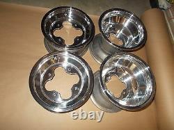 (4) Rims Wheels Front Rear Yamaha Warrior 350 Banshee YFZ450 450R Raptor 250 350