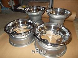 (4) Rims Wheels Front Rear Yamaha Warrior 350 Banshee YFZ450 450R Raptor 660 700