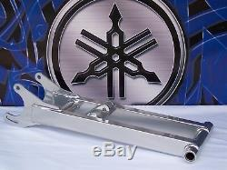 +4 Silver Extended Yamaha BANSHEE Swingarm Extension Yfz350 Powder Coat Chrome