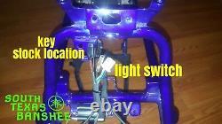 97-01 Yamaha Banshee Tank Mount Wiring Harness NO TORS NO PARK BRAKE