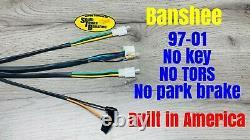 97-01 Yamaha Banshee wiring harness NO KEY Custom STB NEW YFZ350