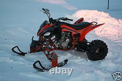 ATV Tires to Polaris Skis Conversion Kit for Yamaha Blaster Banshee Warrior YFZ