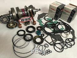 Banshee 350 64mm Stock Bore Wiseco Hotrods Crank Seals Top End Motor Rebuild Kit