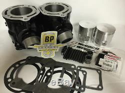 Banshee 66 mil. 080 370 Big Bore Cylinders Wiseco Pistons Top End Rebuild kit