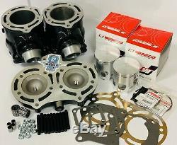 Banshee Cylinders Top End Rebuild kit Complete Cylinder Pistons Wiseco Pro Lite