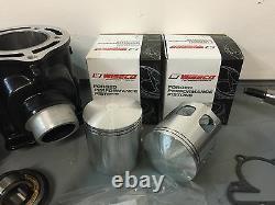 Banshee Cylinders Wiseco Pistons 64mm Hotrods Crank Complete Motor Rebuild Kit
