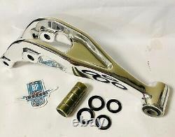 Banshee Rear Linkage Relay Arm Polished 1UY-2217A-00 Polish Hotrods Rebuild Kit
