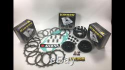 Banshee YFZ 350 COMPLETE CLUTCH REBUILD Hinson Basket Inner Hub Pressure Plate