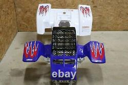 Banshee fenders + gas tank plastic + grill + graphics 2010 RED WHITE BLUE A-1