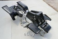 Banshee fenders + gas tank plastic grill + graphics BLACK CARBON FIBER 2004 LE