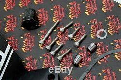 Billet aluminum BLACK Yamaha Banshee stator sprocket cover with trans support