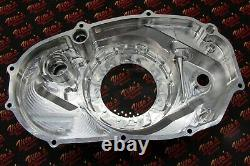 Billet aluminum Yamaha Banshee lock up CLUTCH COVER with clear window + dipstick