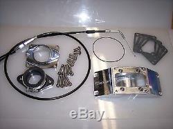 Chariot Yamaha Banshee 2 into 1 Intake Kit With Cable 30-35 carb