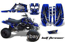 Creatorx Graphics For Yamaha Banshee 350 Fullbore Plastics Bolt Thrower Blue B