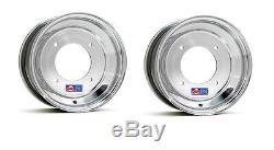 DWT Polished Front Wheel 10 10x5 2+3 4/156 Yamaha YFZ450 Banshee Raptor 700 660