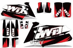 Decal Graphic Kit Yamaha Banshee 350 ATV Quad Decal Wrap Parts Deco 87-05 WD RED