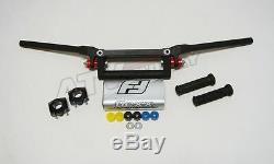 Fasst Flexx 14 Quad Handle Bars Handlebars + Clamps + Grips Yamaha Banshee 350