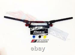 Fasst Flexx Handle Bars Handlebars 14 Degree Quad Black Pad Yamaha Banshee 350