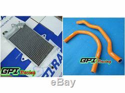 GPI NEW Aluminum Radiator +GREE HOSE ATV YAMAHA banshee YFZ350 YFZ 350 oversized