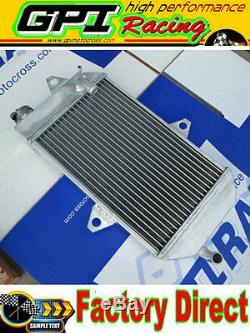 GPI NEW Aluminum Radiator &GREE HOSE ATV YAMAHA banshee YFZ350 YFZ 350 oversized