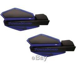 Handguards PowerMadd Star Black and Blue ATV MX Yamaha BANSHEE New TR663928-4
