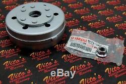 LIGHTENED FLYWHEEL Yamaha Banshee shaved rotor 1987-2006 + NEW OEM nut