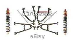 Lone Star +2 A-arms & Elka Shocks FRONT Yamaha Banshee 350 YFZ350 Lonestar LSR
