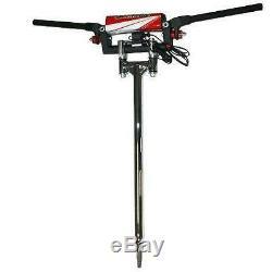 Lonestar LSR +1 Steering Stem Fasst Flexx Bars Handlebars Kit Yamaha Banshee 350