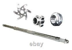 Lonestar LSR Axcalibar Axle + Sprocket Hub + Brake Hub + Lock Nut Yamaha Banshee