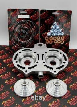 Motor City Atv STEALTH HEAD Yamaha Banshee 20cc Cool Head domes orings 1987-2006