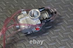 NEW 2 x 35mm carburetor + throttle cable aftermarket carbs Banshee + pod filters