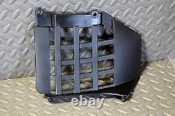 NEW Black Heel Guards footrest Yamaha Banshee left + right nerf bars plastics