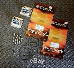 NEW CHARIOT RACING Yamaha Banshee reeds + reed cages BOYESEN REEDS 1987-2006
