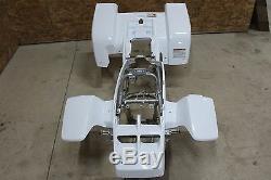 NEW OEM 1987-2006 Yamaha Banshee fenders front + rear plastic body WHITE