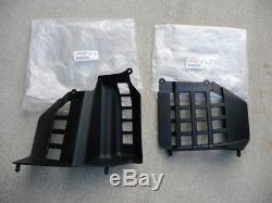 NEW OEM Banshee FACTORY nerfs nerf bars PLASTIC heel guards left + right