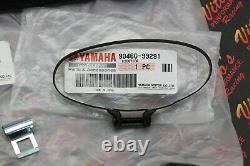NEW OEM Yamaha Banshee airbox factory LID & SNORKEL + clamps intake 1987-2006