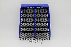 NEW Vito's Performance Yamaha Banshee plastic radiator cover + grill BLUE