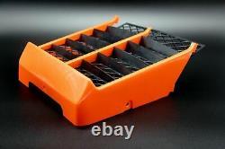 NEW Vito's Performance Yamaha Banshee plastic radiator cover + grill ORANGE