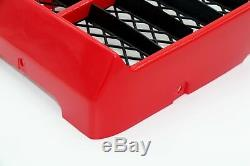 NEW Vito's Performance Yamaha Banshee plastic radiator cover + grill RED