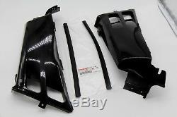 NEW Vito's Yamaha Banshee gas tank side covers plastic wrap 1987-2006 BLACK