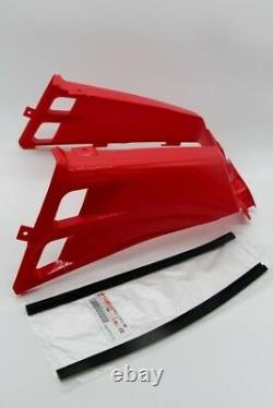 NEW Vito's Yamaha Banshee gas tank side covers plastic wrap 1987-2006 RED